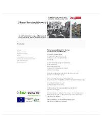 Offener Kunstwettbewerb Auslober Land Berlin -