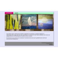 Flash-Webseite letonnelier - Atelier, Werke der zeitgenössischen Kunst